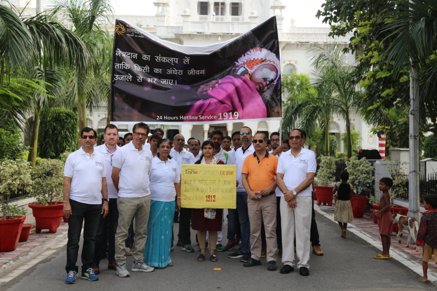 Eye Donation Awareness Rally, 27 August, 2017